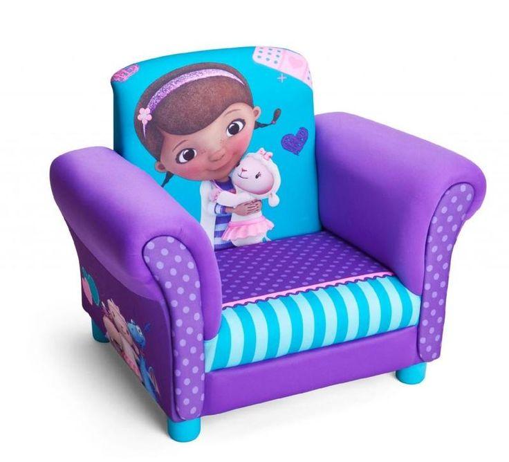 Sillón infantil Doctora Juguetes. Doc Mdcstuffins. TC85698DM, IndalChess.com Tienda de juguetes online y juegos de jardin