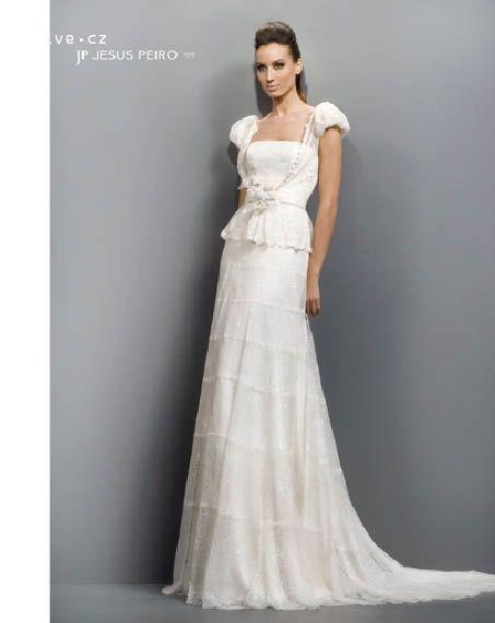 JESUS PEIRO svatební šaty, model 1079 (Praha,Bratislava)