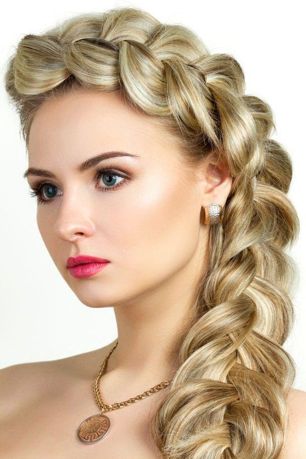 Красивые плетения на длинные волосы фото