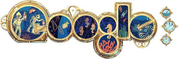 Jules Verne's 183rd Birthday - HD - (Global)