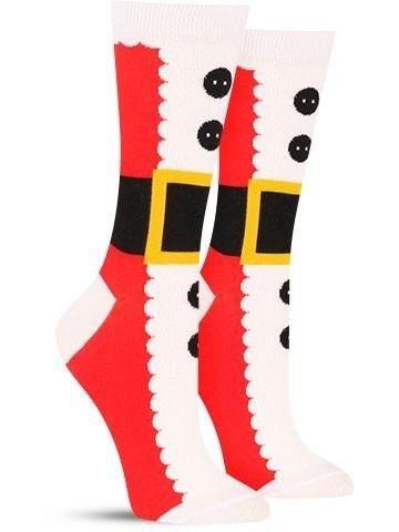 Santa Suit Socks | 12 Wacky Socks For The Christmas Enthusiast