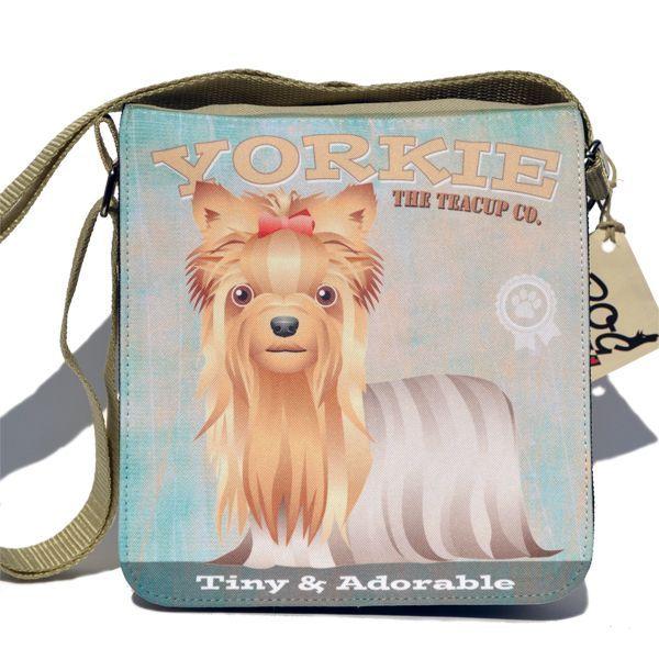 Yorkshire terrier táska