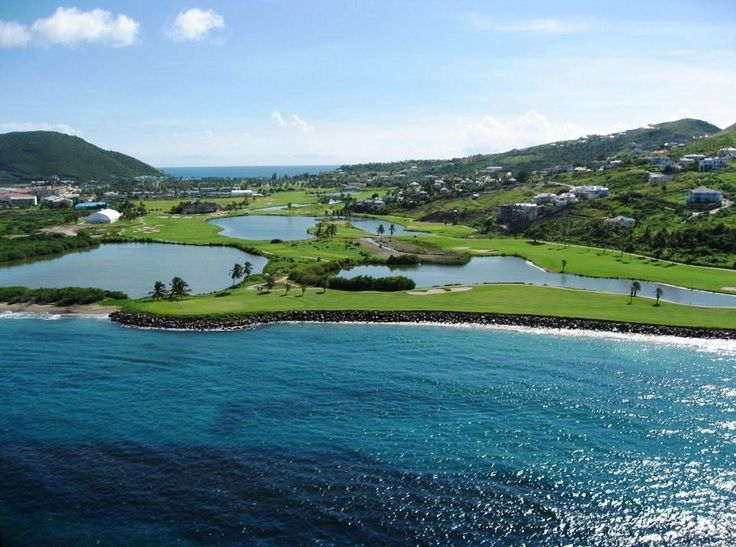 For those fighting the Monday Blues, how about we add some green on the golf course at the St. Kitts Marriott?