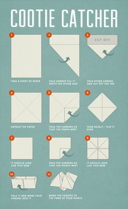 231 best Cootie Catcher images on Pinterest - cootie catcher template