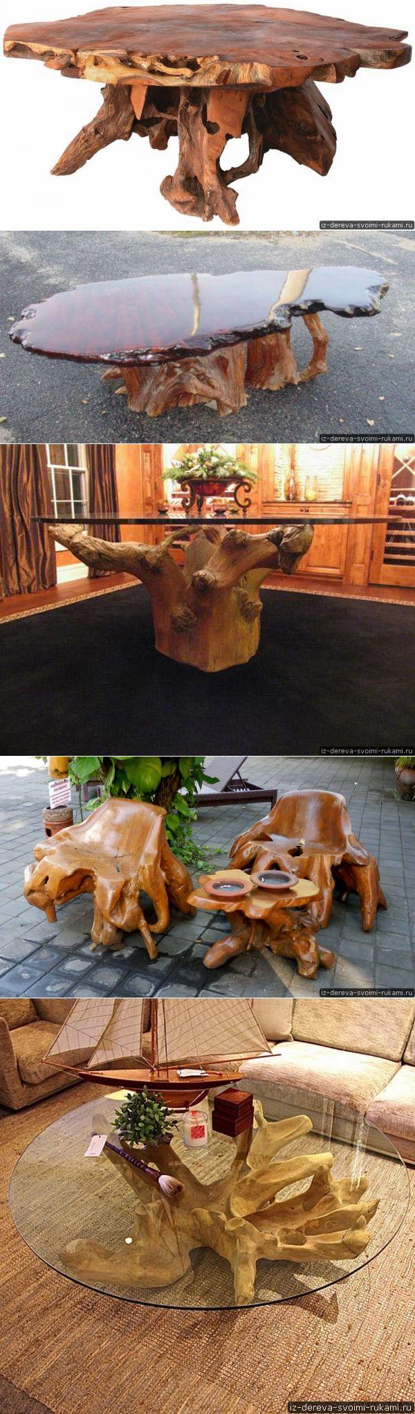 Мебель из пней (12 фотографий). Ход работы по созданию мебели из пня | Из дерева своими руками: поделки, мебель, мастер-классы