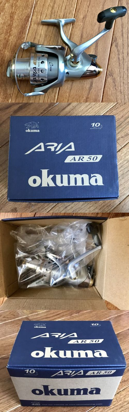 Spinning Reels 36147: New Okuma Aria Ar50 Spinning Reel With Okuma Reel Bag, Box And Papers Free-Ship! -> BUY IT NOW ONLY: $69.99 on eBay!