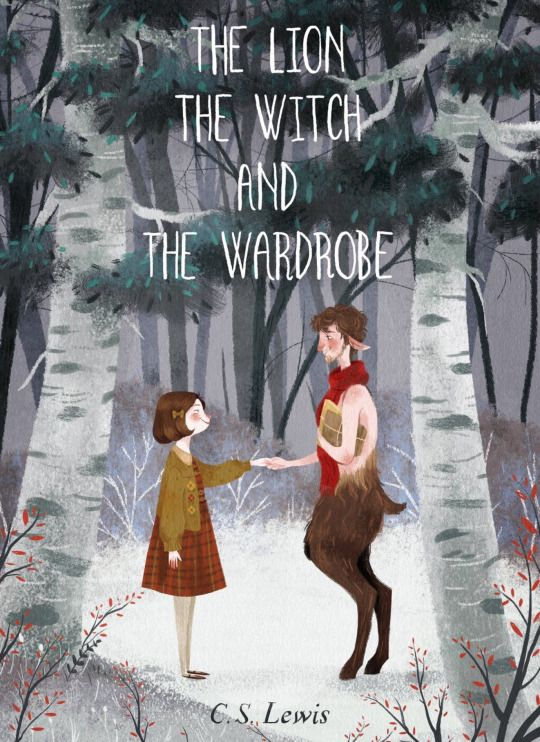 Narnia illustration by Taryn Knight