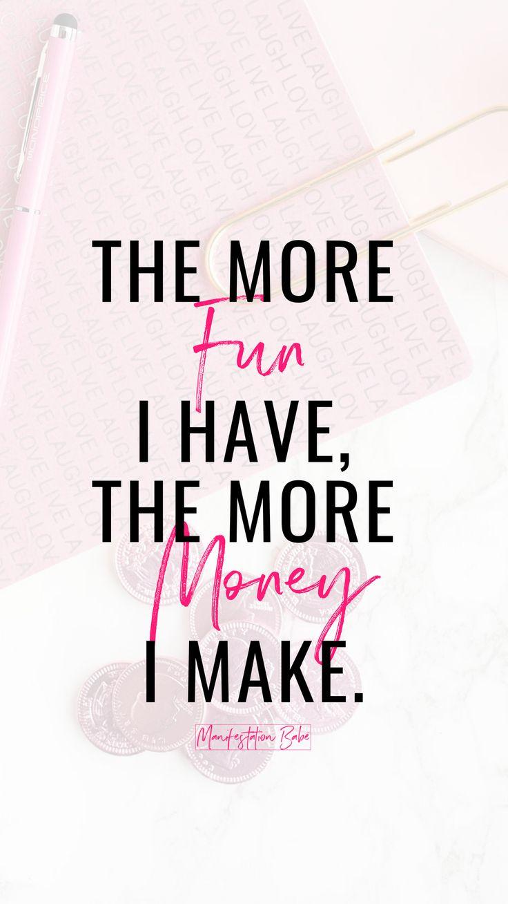 Money Affirmation Screensaver #manifestation #abundance #prosperity #wealth