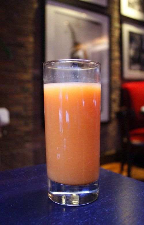 #SpaWeekSlimDown This fresh juice uses oranges, carrots and ginger for a morning boost