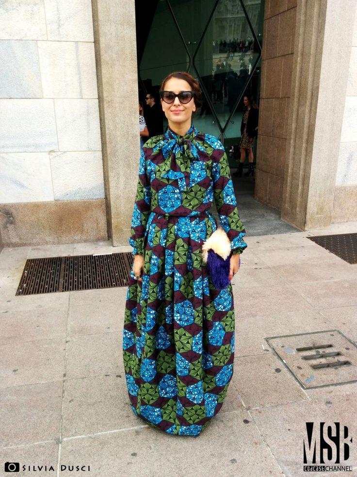 Milano Women Fashion Week Spring/Summer 2015 - Day 1: Stella Jean | Codcast Blog #moda #donna #style #fashion #outfits #streetstyle #milano #fashionweek @syria #syria