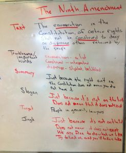 What happens when you mix an improv game with history? Answer - a magical long period! This activity is based on an improv game called Ad Game. In Ad Gameplayers invent something to market, a slog...