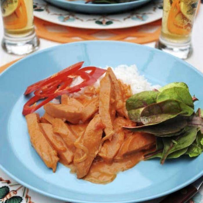 Korv stroganoff – klassiskt recept