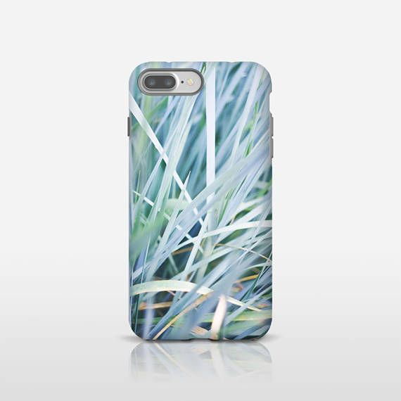 Blue leaves phone case, Gift for her, Cell phone case, Mobile phone cases, iPhone X, iPhone 8, Galaxy S9, Samsung S8, Google Pixel 2. UL118