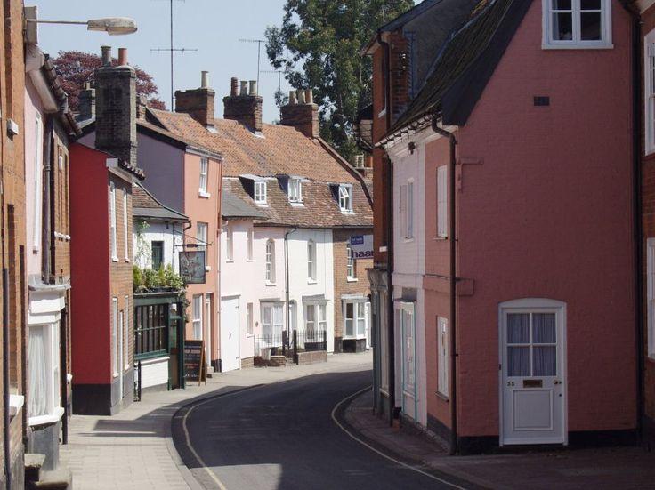 Woodbridge, Suffolk, England. Where I met my husband.
