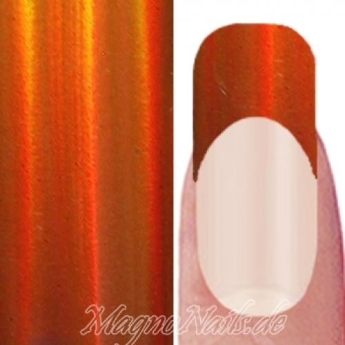 Nail Art Transfer Folie 1,5m - Nail Foil - Peach Burst