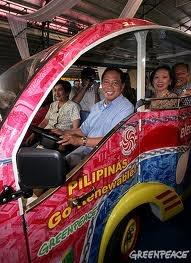 Doing free rides around Makati now.
