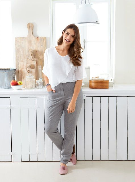 View details for the pattern Fitted Sweatpants (Plus Size) 11/2014 #128 on BurdaStyle.