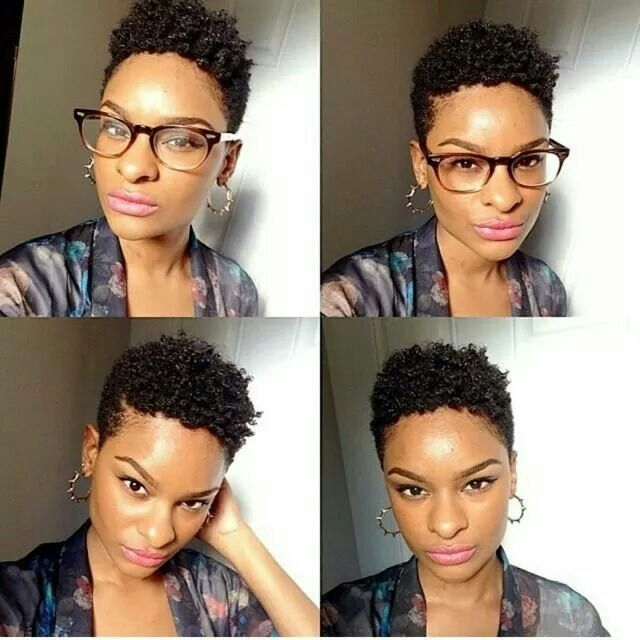 Natural Hair Shaved Sides Hairstyles