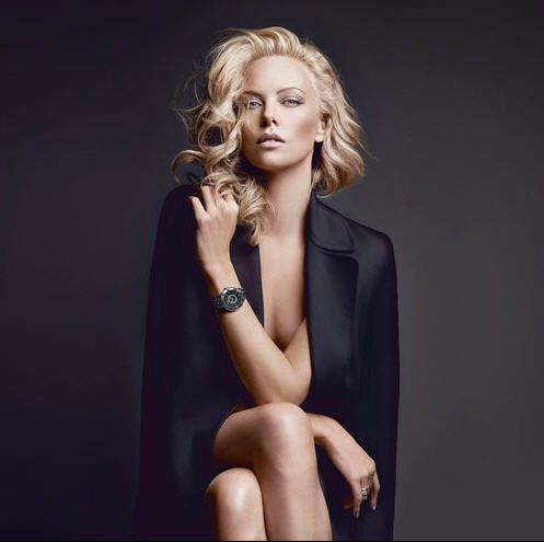 Charlize Theron for Dior.  She just LOOKS expensive in the picture.  Love it.