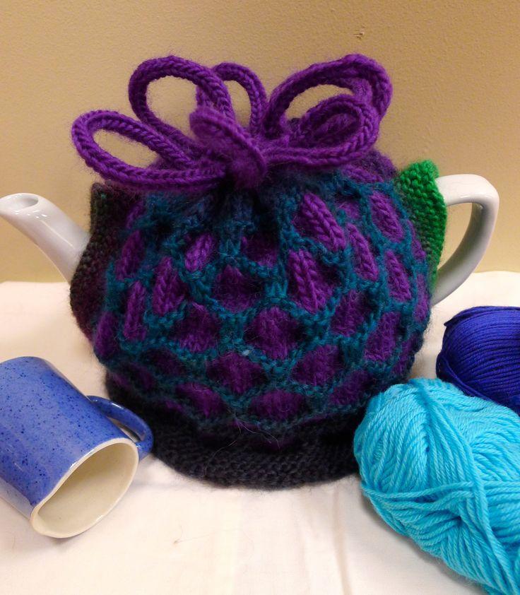 Honeycomb Stitch Tea Cosy Jenny Occleshaw