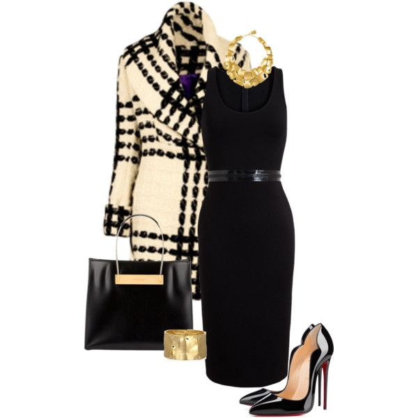 A fashion look from January 2015 featuring Givenchy dresses, Christian Louboutin pumps and Balenciaga tote bags. Browse and shop related looks.