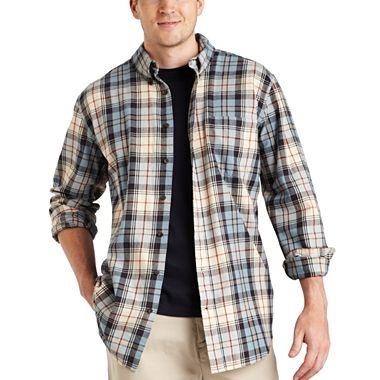 St John 39 S Bay Flannel Shirt Big Tall Jcpenney 2xlt