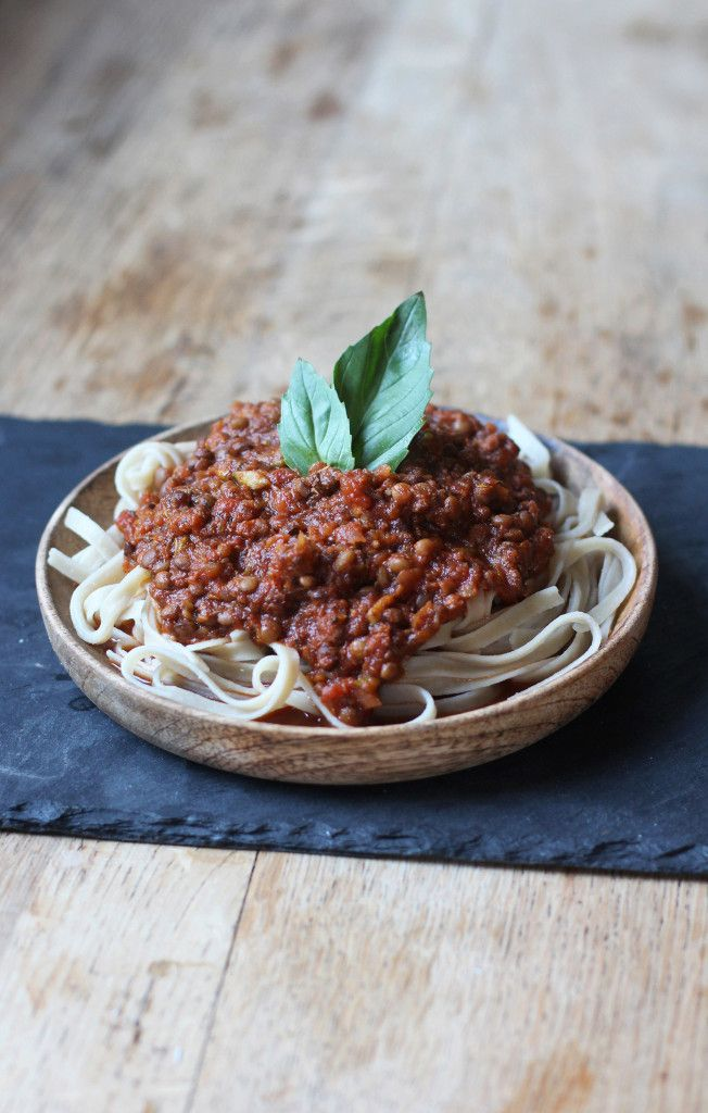 This healthy Lentil Bolognese is full of flavour and low in fat! The perfect kind of comfort food. Vegan + Gluten Free