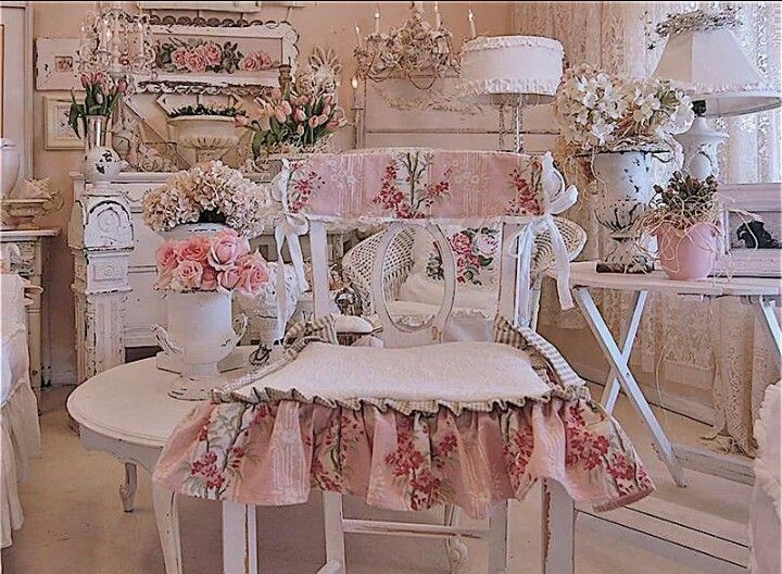 Shabby chic victorian decorating ideas pinterest for Lampe style shabby chic