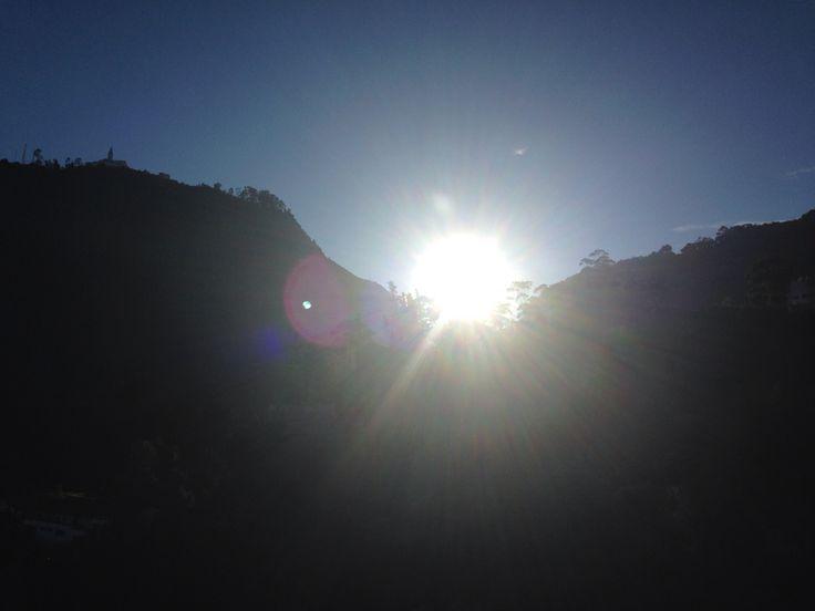 El sol sobre mi ventana