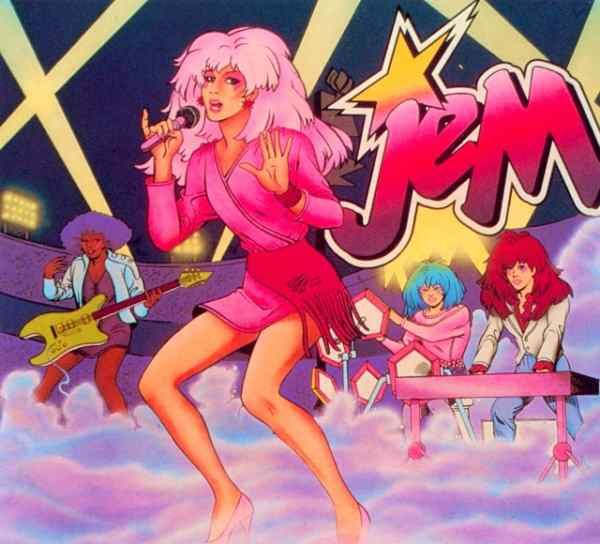 My sister, @Holly Farris, loved her self some Jem!