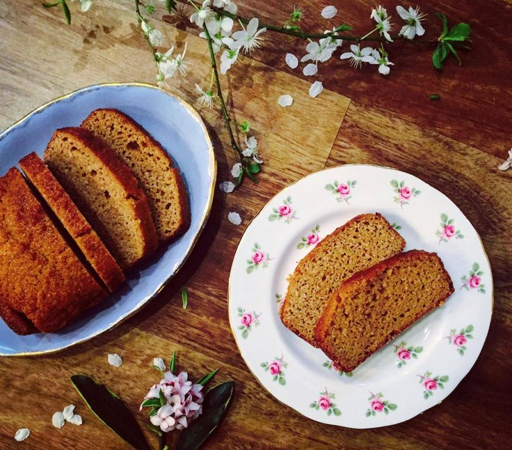 Delicately Sweet Golden Loaf  GLUTEN FREE, GRAIN FREE, DAIRY FREE, SOY FREE, REFINED SUGAR FREE, PALEO