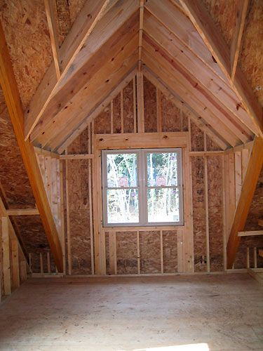 Dormer With Cathedral Ceiling House Pinterest