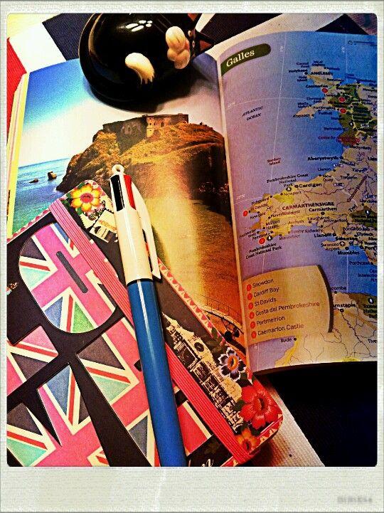 Planning my trip to Wales http://blackcatsouvenirs.blogspot.com