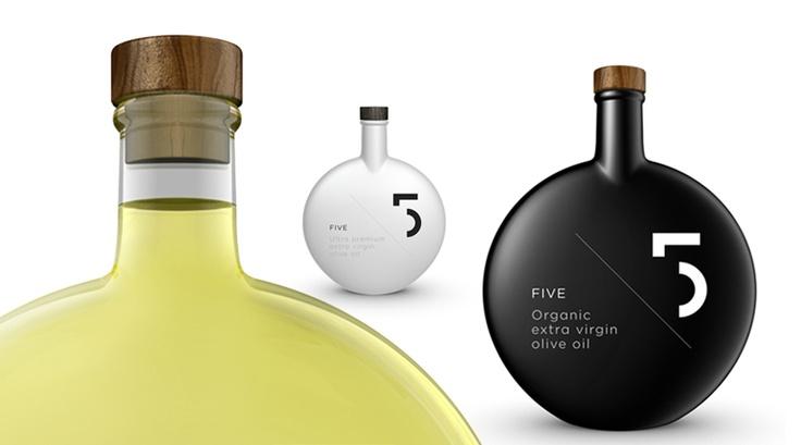 Красивая тара для оливкового масла / Очень красивые бутылки для хранения обычного оливкового масла, дизайн которых разработан группой Designers United.