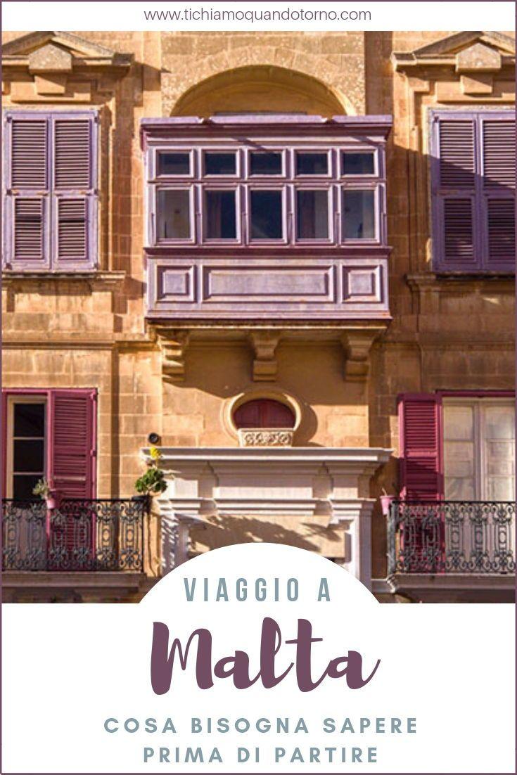 Organizzare un viaggio a Malta: consigli utili | Viaggi in ...