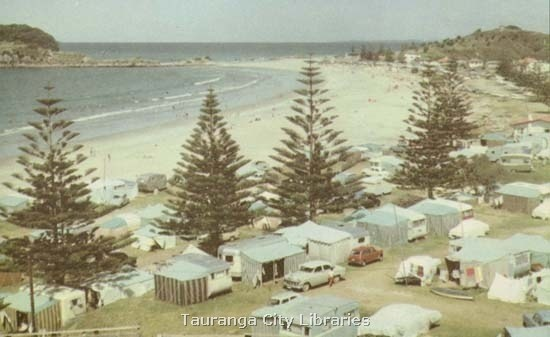 Mount Maunganui Camp Ground 1960