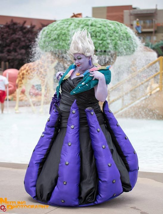 """sweets4asweet submitted to fuckyeahfatpositive: """" My cosplay of Ursula from The Little Mermaid! Cosplayer: Sweets4aSweet Cosplay Website: www.facebook.com/Sweets4aSweetCosplay Photographer: Neitling..."""