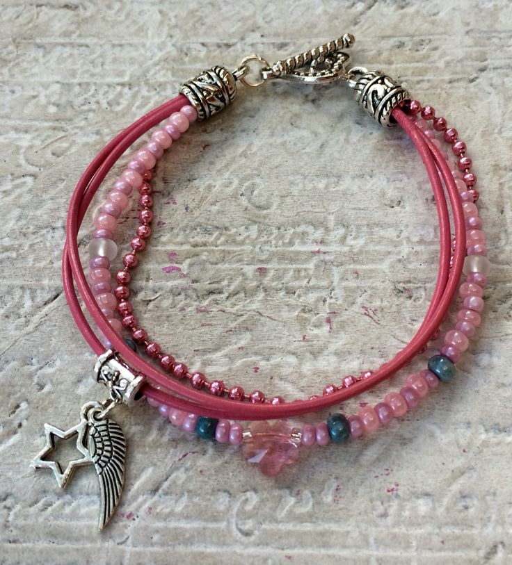 Plínky Pink Bracelet