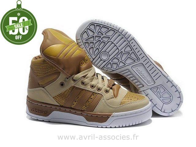 Boutique Chaussures Homme et Femme Fashion W Adidas Originals Metro Attitude - verge d´or foncé kaki (Chaussure De Foot Adidas Pas Cher)