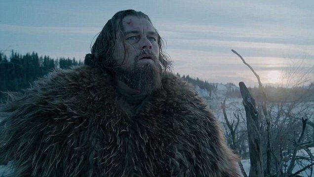 The Revenant stars Leonardo DiCaprio, Tom Hardy and Will Poulter. Directed by Alejandro G. Iñárritu. Premieres December 2015.