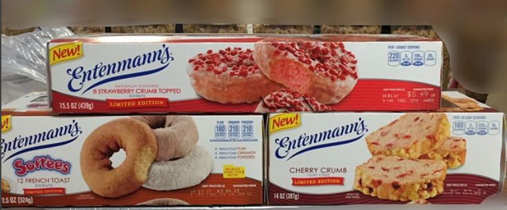 Entenmann's Donuts and Loaf