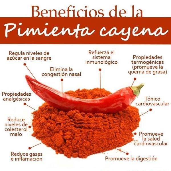 Saiku Alternativo Beneficios Para La Salud De La Pimienta De Cayena Pimienta De Cayena Beneficios Beneficios De Alimentos Pimienta Cayena