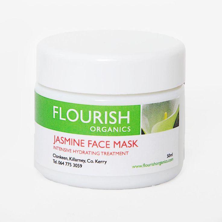 Flourish Organics Jasmine Face Mask