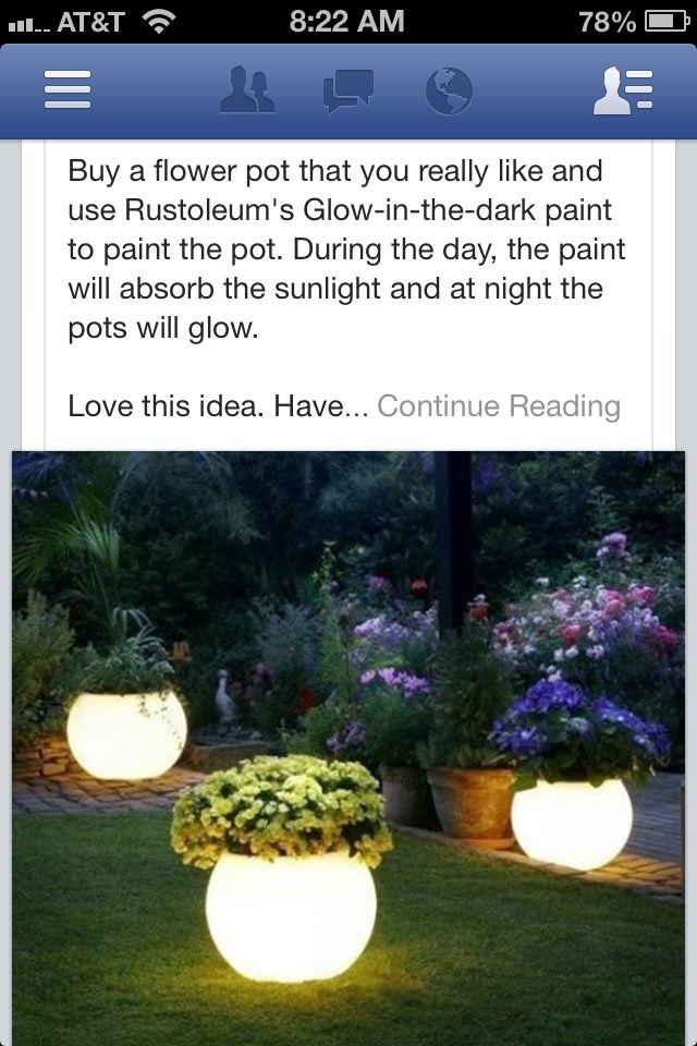 outdoor glow in the dark paint wonder if it works. Black Bedroom Furniture Sets. Home Design Ideas