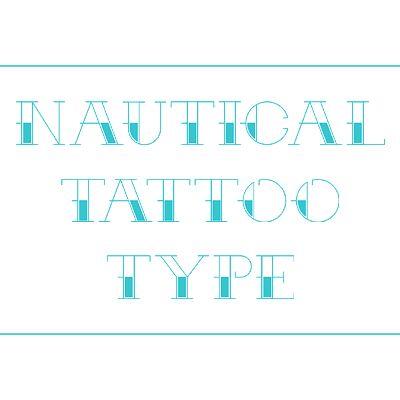 Arr Matey! Create a Nautical Themed Tattoo Alphabet in Sketch — Tuts