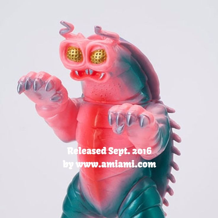 Released Sept. 2016 by www.amiami.com #sofubi #toy #kaiju #toycollector #kaijumonster #amiami