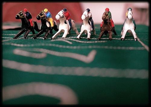 Il gioco dei cavallini (Genova, famiglia Minetti - anni '30-'40 circa)
