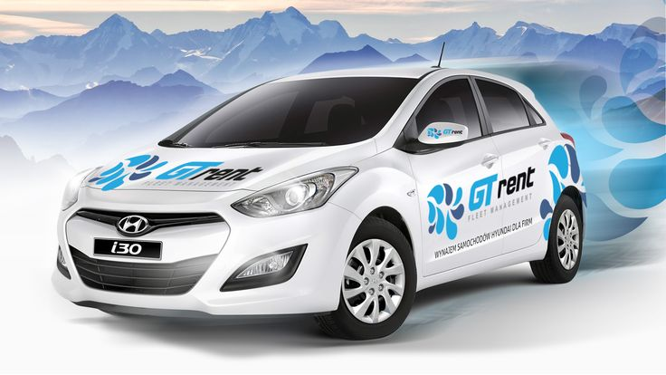 car wrapping project for AutoGT company