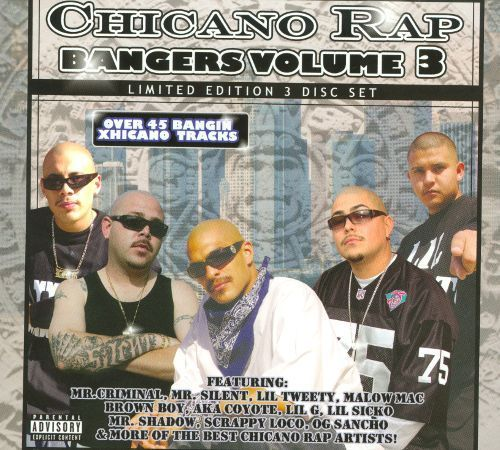 Chicano Rap Bangers, Vol. 3 [CD] [PA]