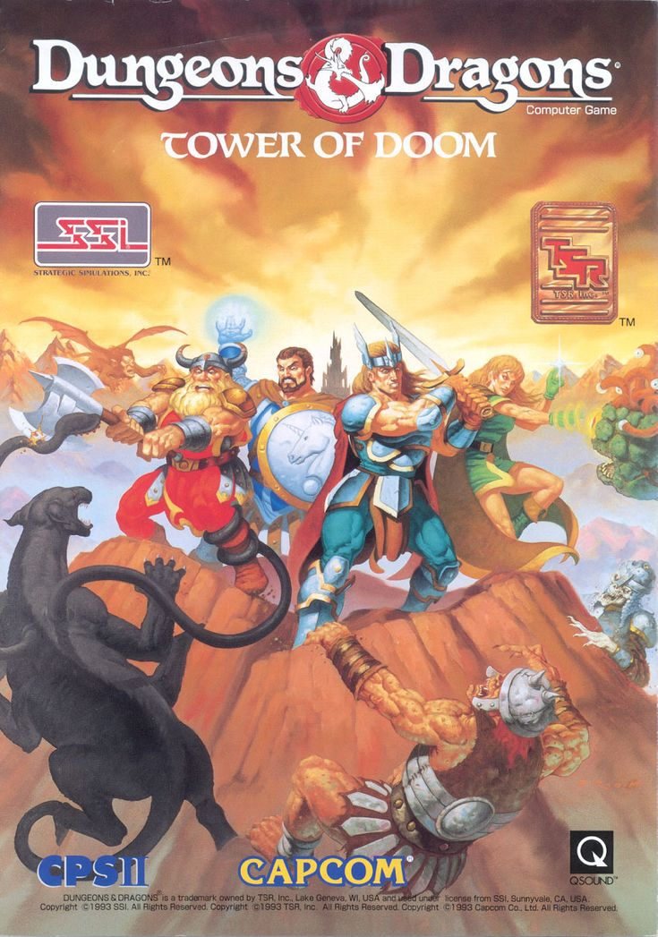 Dungeons & Dragons - Tower of Doom (1993)